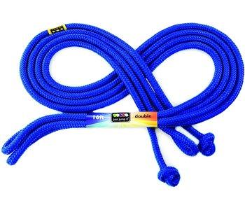 Just Jump It Skipping Rope 16' Rainbow Blue