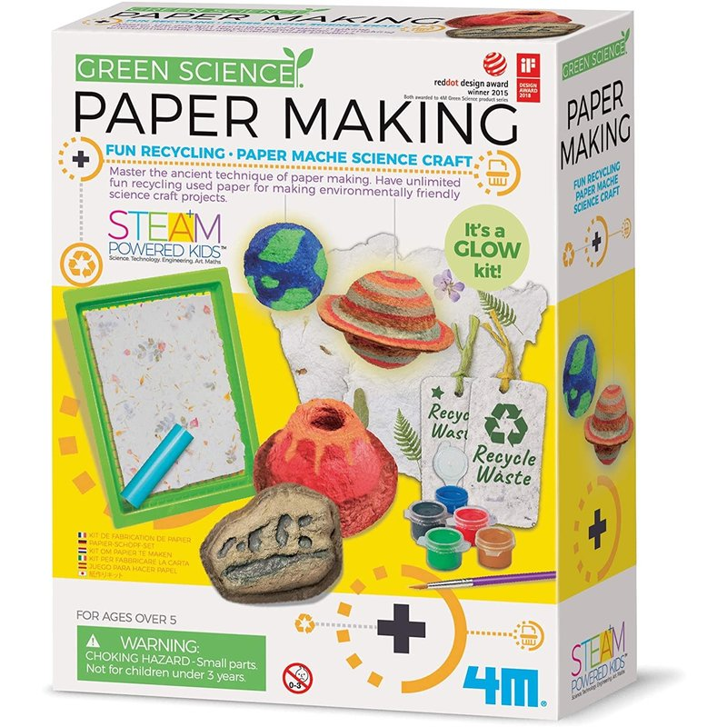 4M 4M Green Science Paper Making Kit