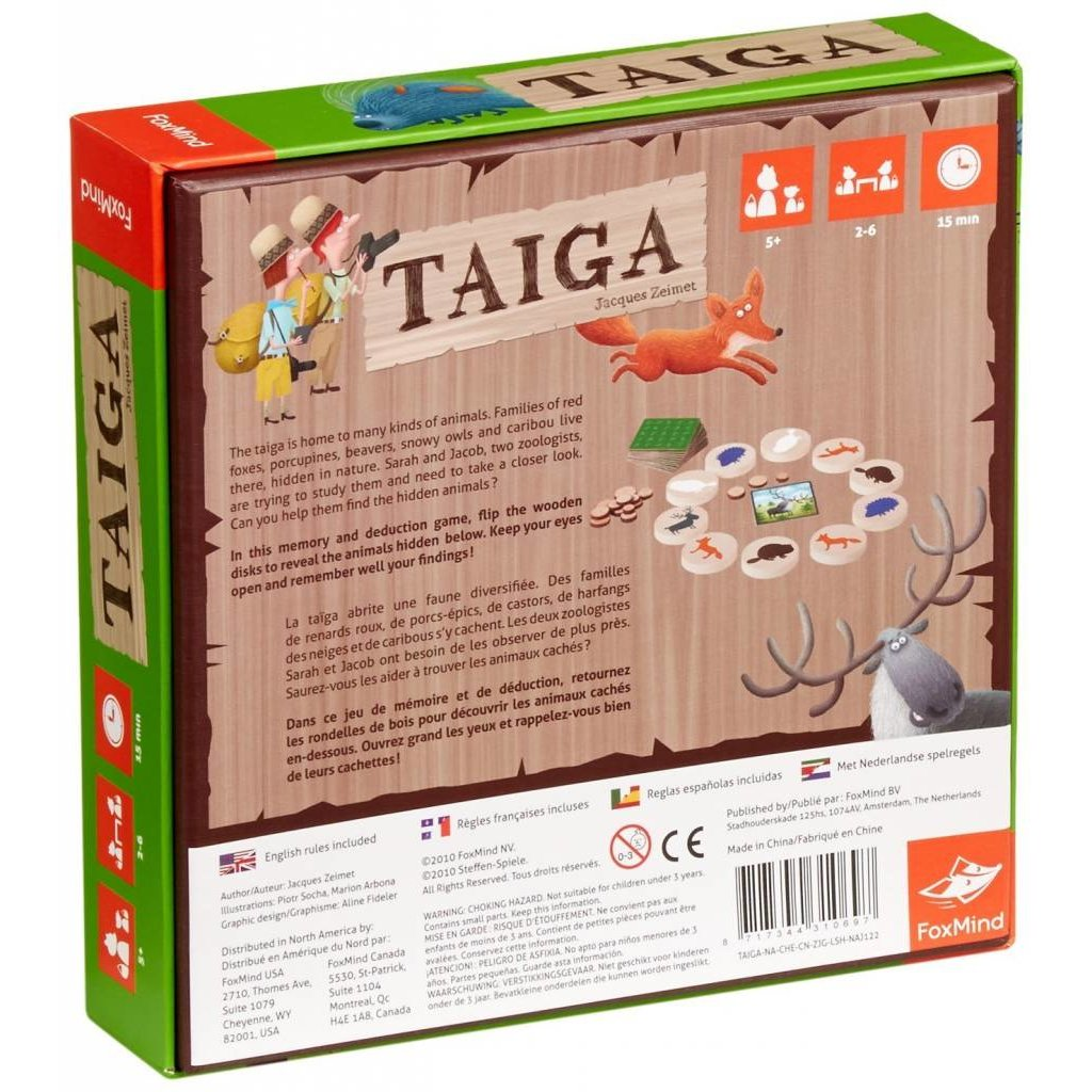 FoxMind Game Taiga