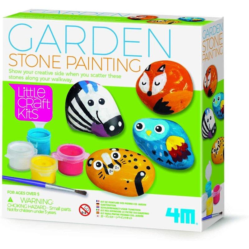 4M 4M Craft Garden Stone Painting