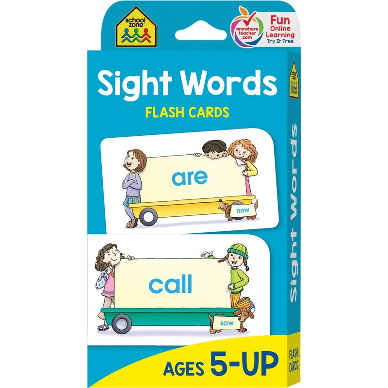 School Zone Flash Cards Sight Words