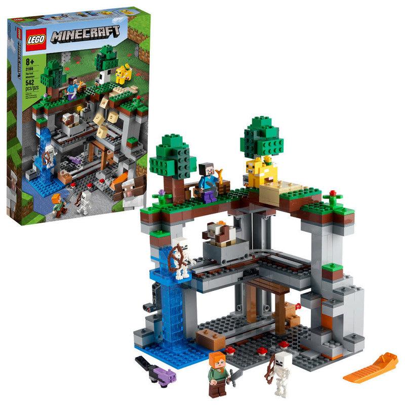 Lego Lego Minecraft The First Adventure