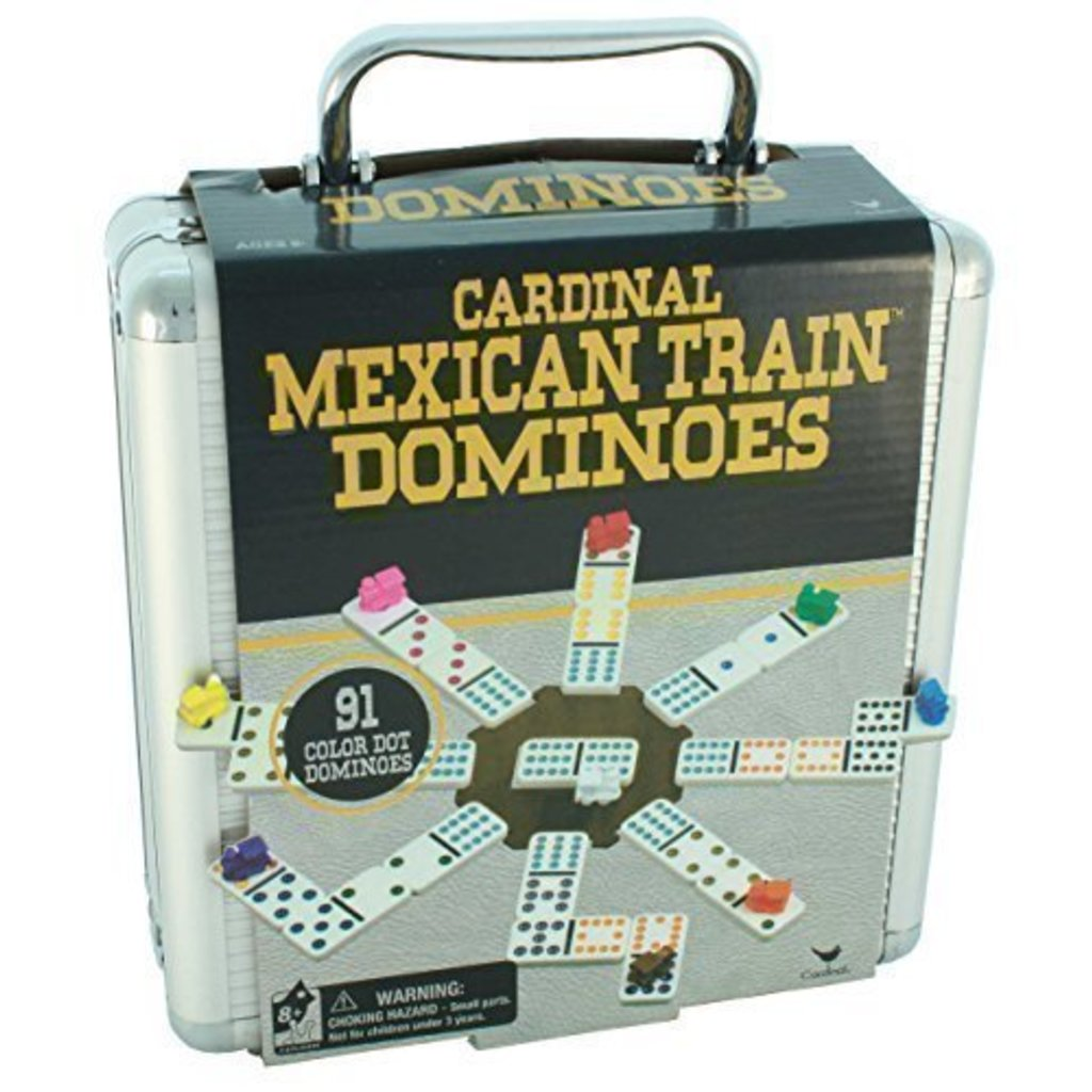 Cardinal Game Mexican Train in Case
