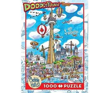 Cobble Hill Puzzle 1000pc Doodle Toronto
