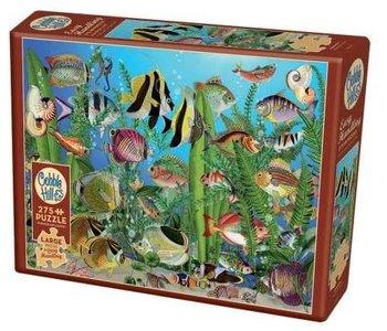 Cobble Hill Puzzle 275pc Aquarium