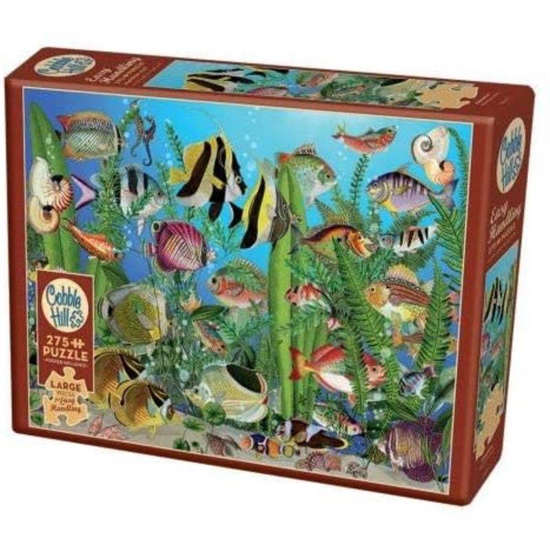 Cobble Hill Puzzles Cobble Hill Puzzle 275pc Aquarium
