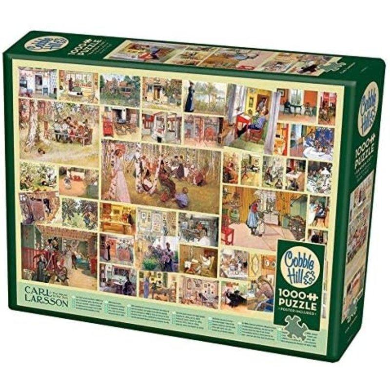 Cobble Hill Puzzles Cobble Hill Puzzle 1000pc Carl Larsson