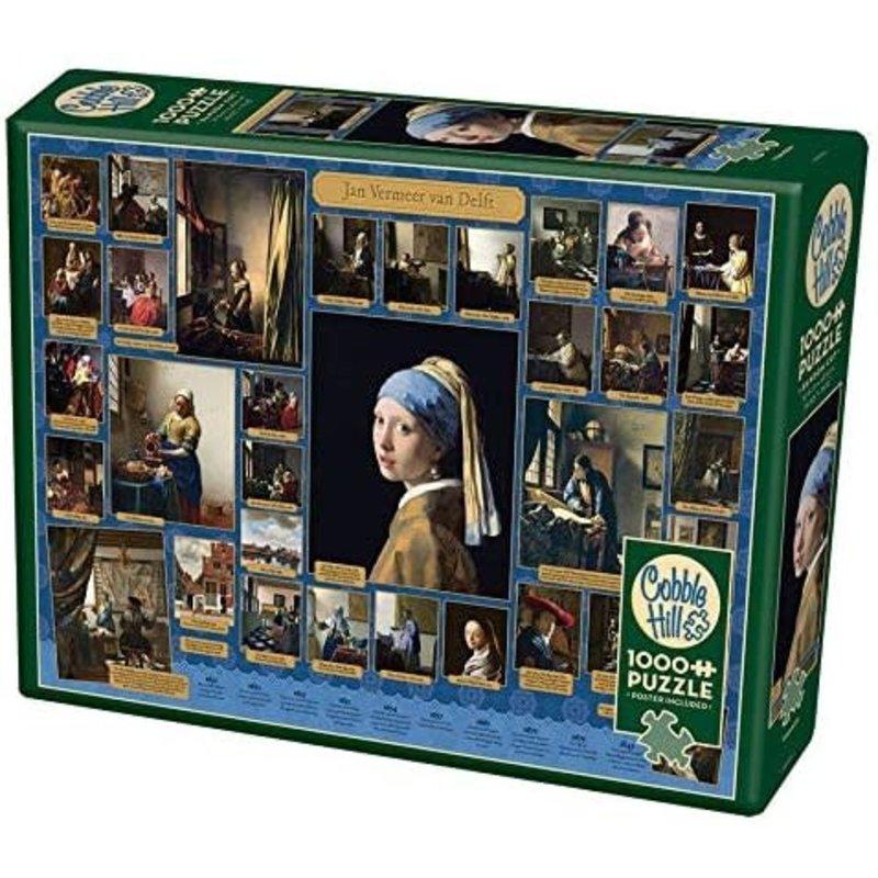 Cobble Hill Puzzles Cobble Hill Puzzle 1000pc Vermeer