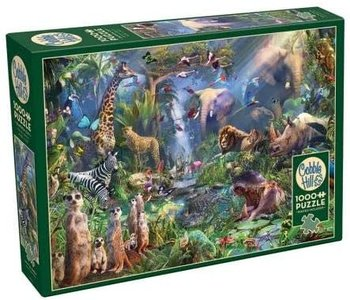 Cobble Hill Puzzle 1000pc Into the Jungle