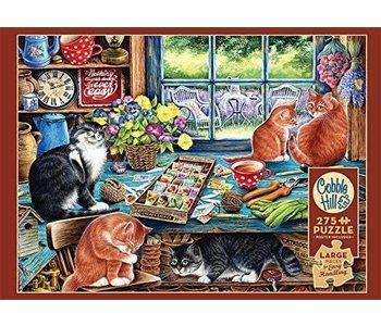 Cobble Hill Puzzle 275pc Cats Retreat