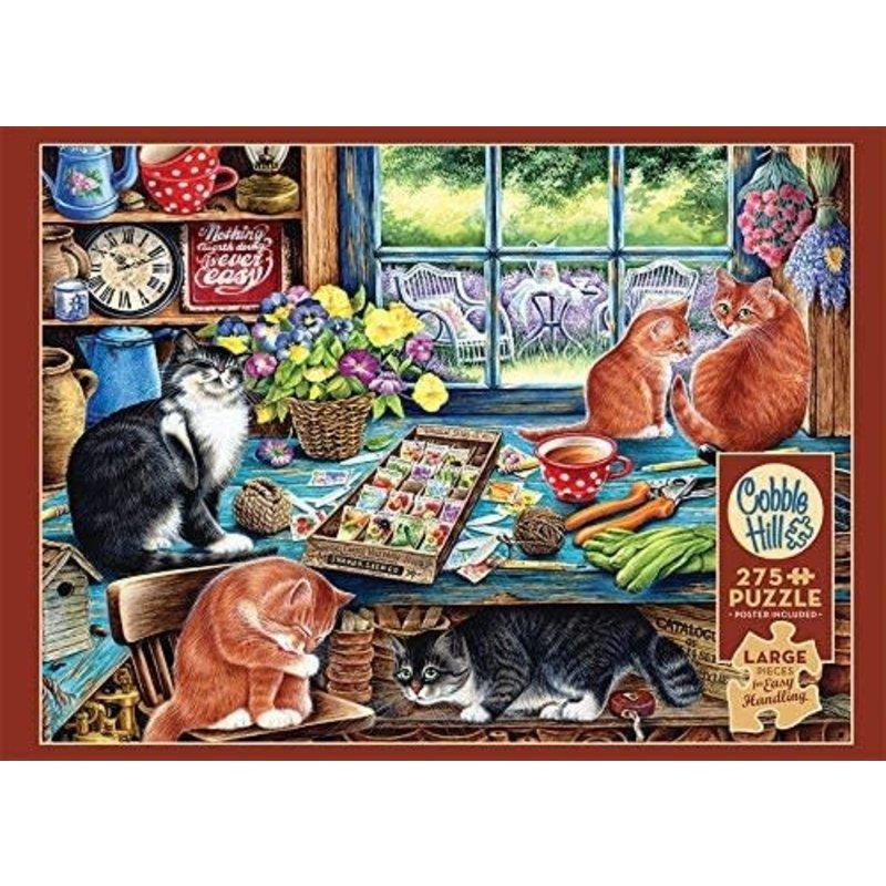 Cobble Hill Puzzles Cobble Hill Puzzle 275pc Cats Retreat