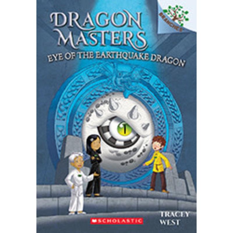 Scholastic Dragon Masters #13 Eye of the Earthquake Dragon