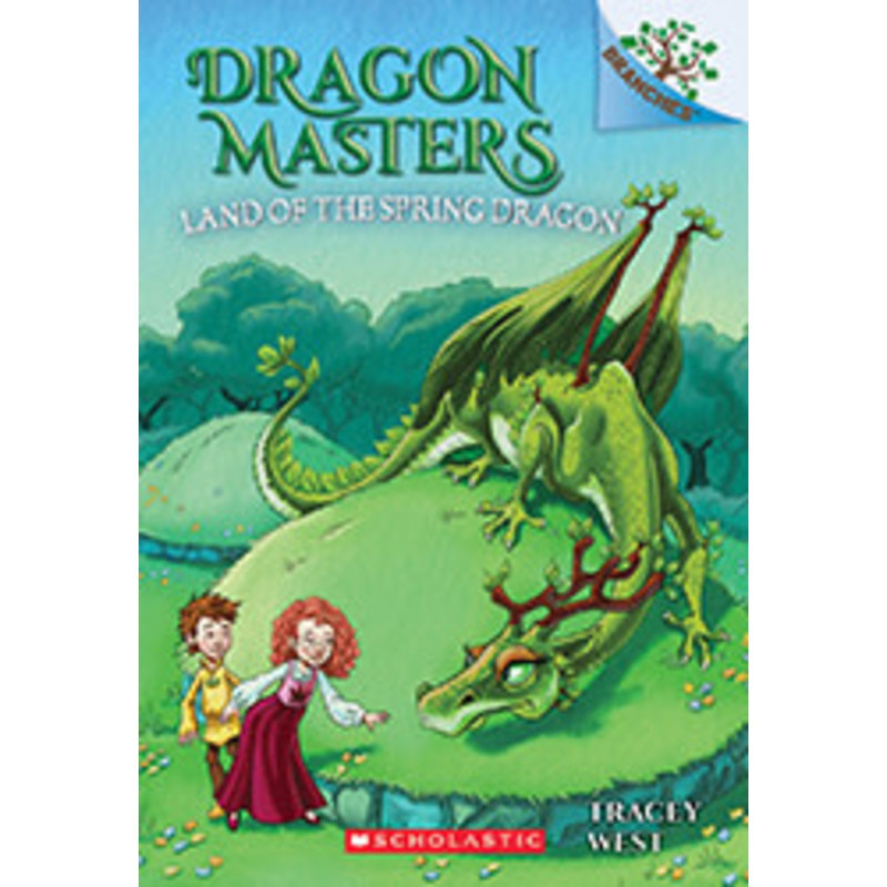 Scholastic Dragon Masters #14 Land of the Spring Dragon