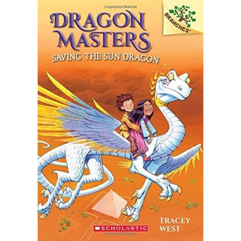 Scholastic Dragon Masters #2 Saving th Sun Dragon