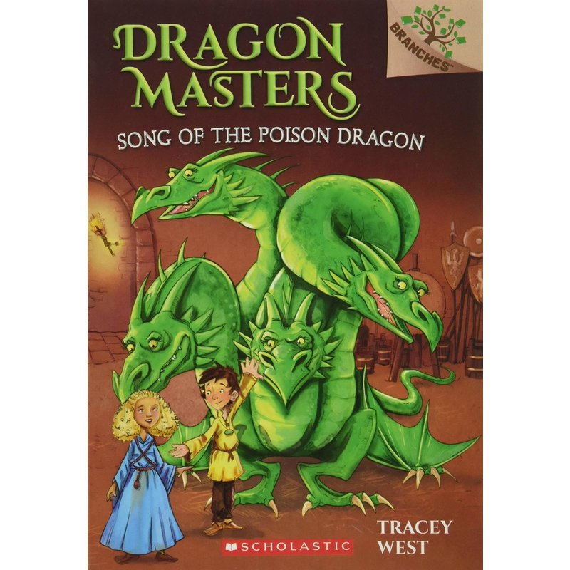 Scholastic Dragon Masters #5 Song  of the Poison Dragon
