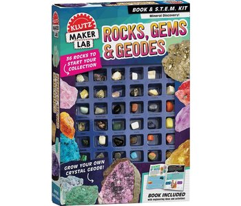 Klutz Book Rocks, Gems, & Geodes
