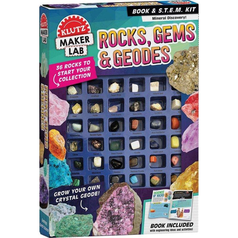 Klutz Klutz Book Rocks, Gems, & Geodes