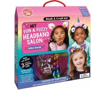 Klutz Book Jr My Fun & Fuzzy Headband Salon