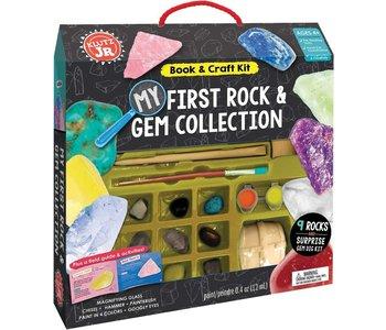 Klutz Book Jr My First Rock & Gem Collection
