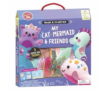 Klutz Book Jr My Cat Mermaid & Friends