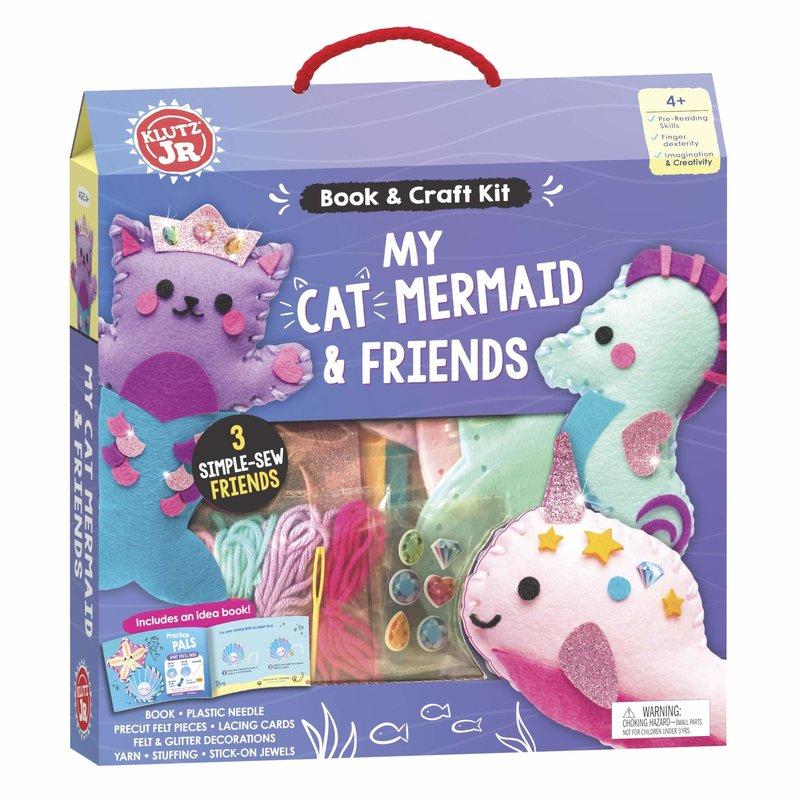 Klutz Klutz Book Jr My Cat Mermaid & Friends