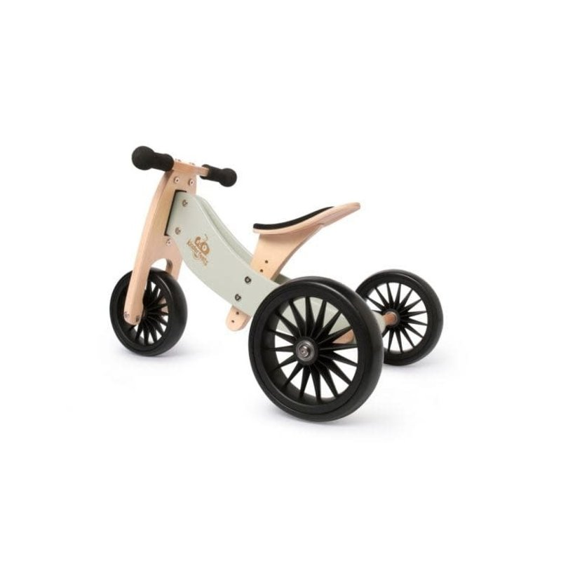 Kinderfeets Kinderfeets Tiny Tots Plus Convertible Balance Bike Sage