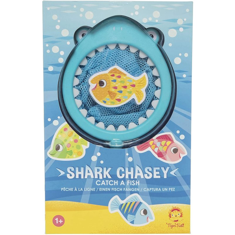 Tiger Tribe Bath Toys Shark Chasey