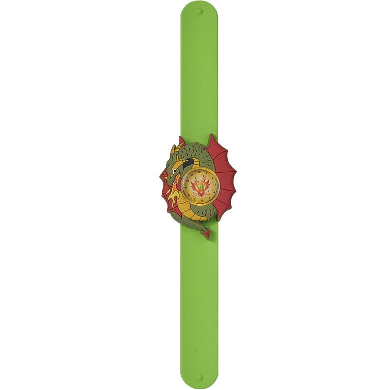 Wild Republic Wild Republic Slap Watch: Green Dragon