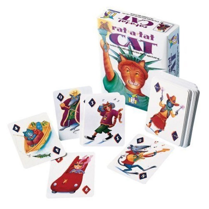 Gamewright Gamewright Game Rat-a-tat-Cat