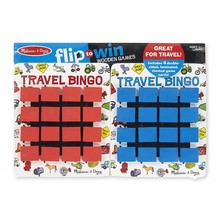 Melissa & Doug Melissa & Doug Game Flip To Win Travel Bingo