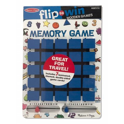 Melissa & Doug Melissa & Doug Game Flip To Win Memory