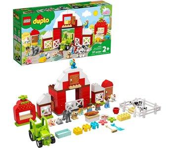 Lego Duplo Barn Tractor & Farm