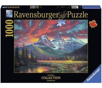Ravensburger Puzzle 1000pc Canadian Alberta's Sisters