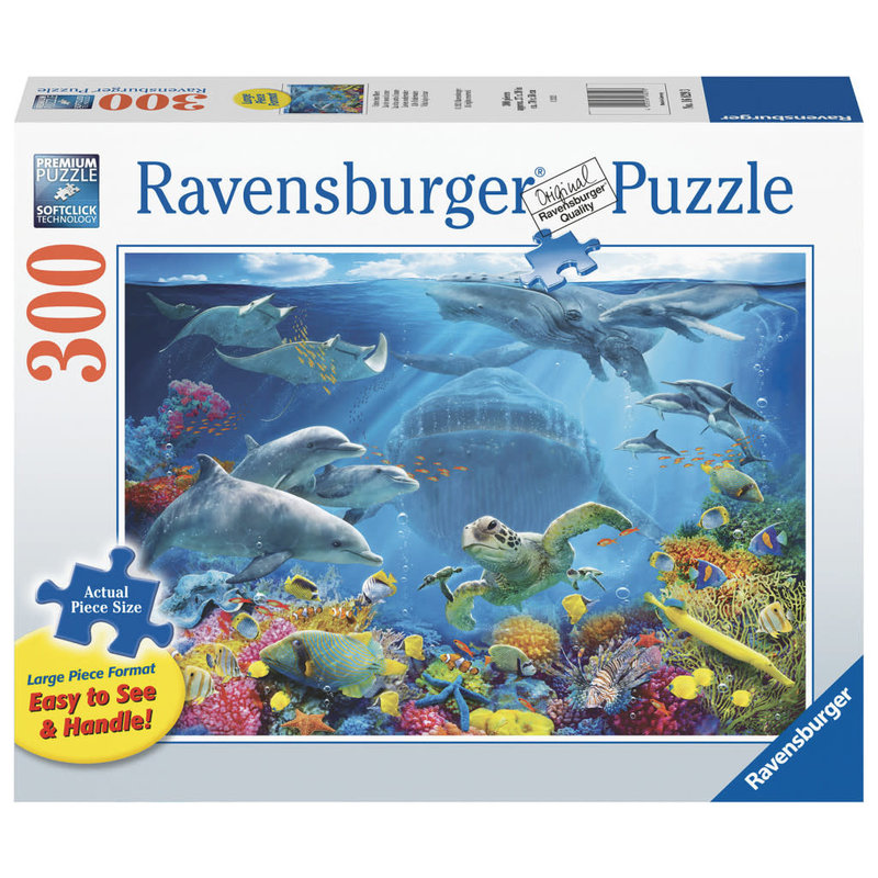 Ravensburger Puzzle 300pc Large Format Life Underwater