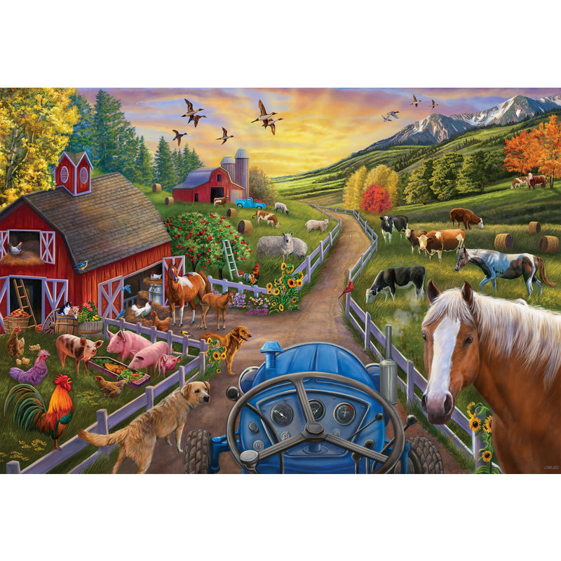 Ravensburger Ravensburger Floor Puzzle 24pc My First Farm