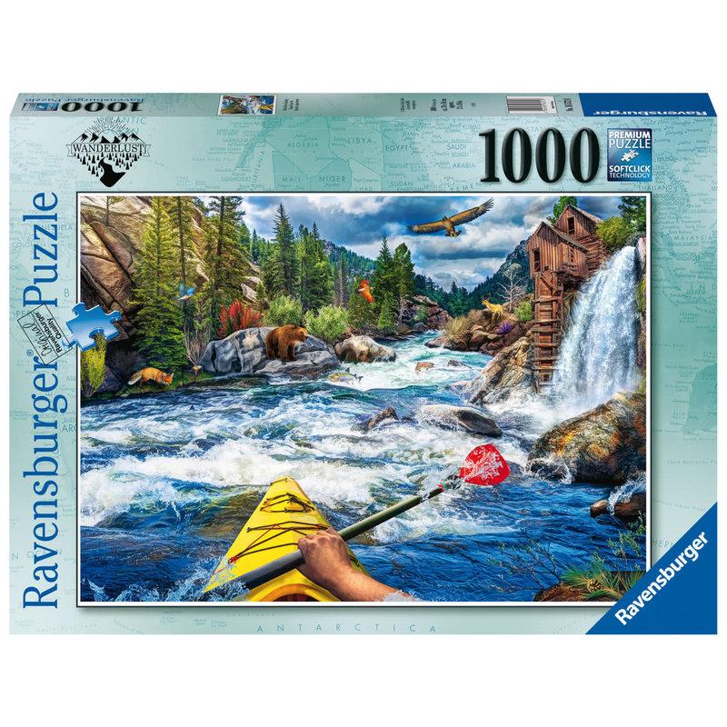 Ravensburger Ravensburger Puzzle 1000pc Whitewater Kayaking