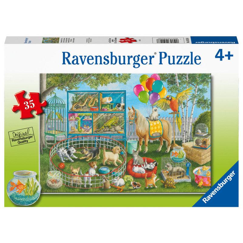 Ravensburger Ravensburger Puzzle 35pc Pet Fair Fun