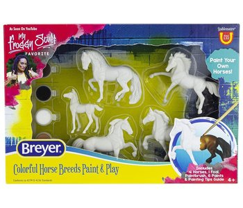 Breyer Craft Paint Your Own Colorful Breeds
