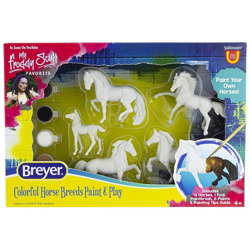 Breyer Breyer Craft Paint Your Own Colorful Breeds