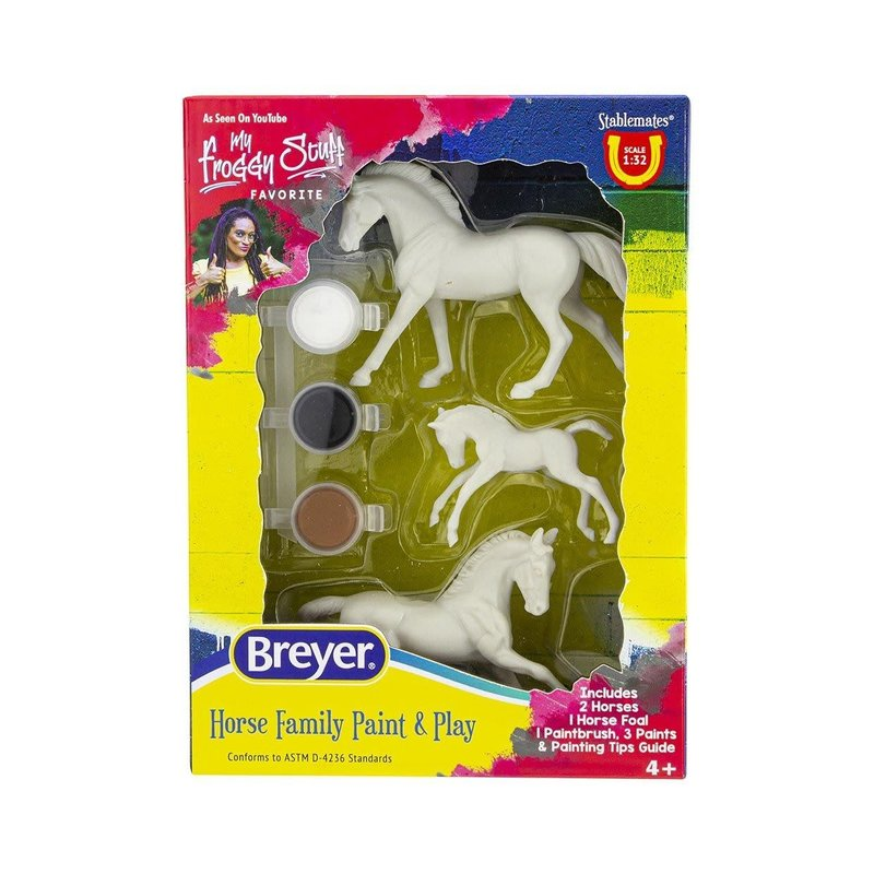 Breyer Breyer Horse Paint & Play Family