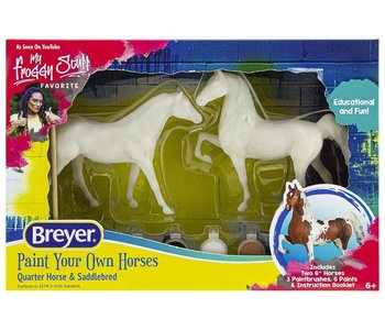 Breyer Craft Paint Your Own Quarter Horse & Saddlebred