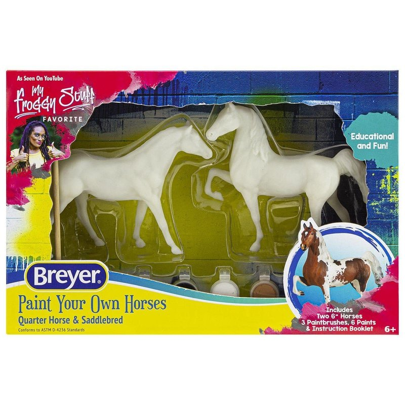 Breyer Breyer Craft Paint Your Own Quarter Horse & Saddlebred