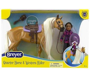 Breyer Freedom Series Horse & Rider Charm & Gabi