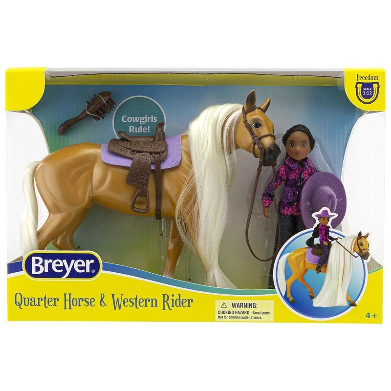 Breyer Breyer Freedom Series Horse & Rider Charm & Gabi