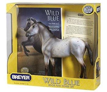 Breyer Book and Horse Set Wild Blue