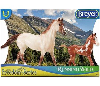 Breyer Horse & Foal Freedom Series Running Wild
