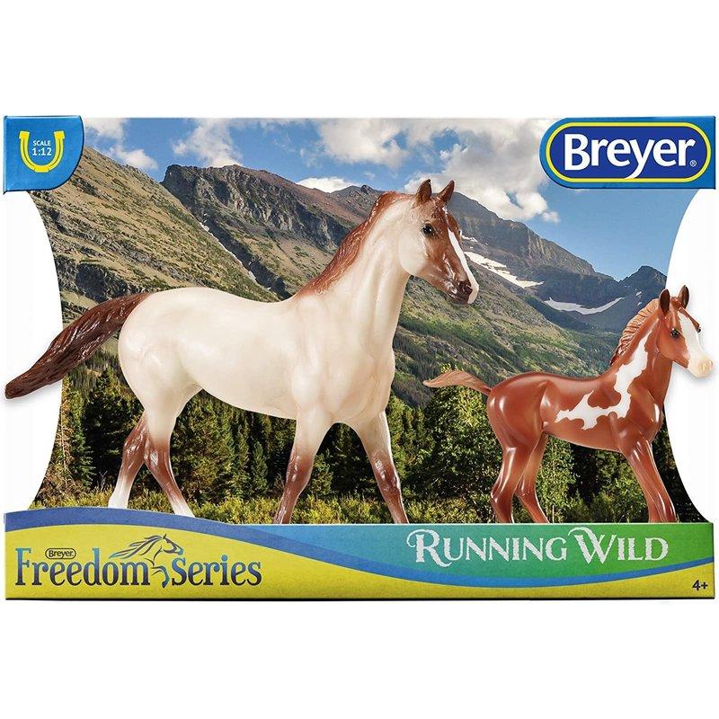 Breyer Breyer Horse & Foal Freedom Series Running Wild
