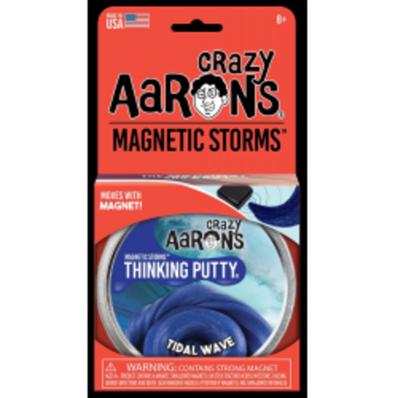 Crazy Aaron Crazy AAron's Thinking Putty Magnetic Storms Tidal Wave
