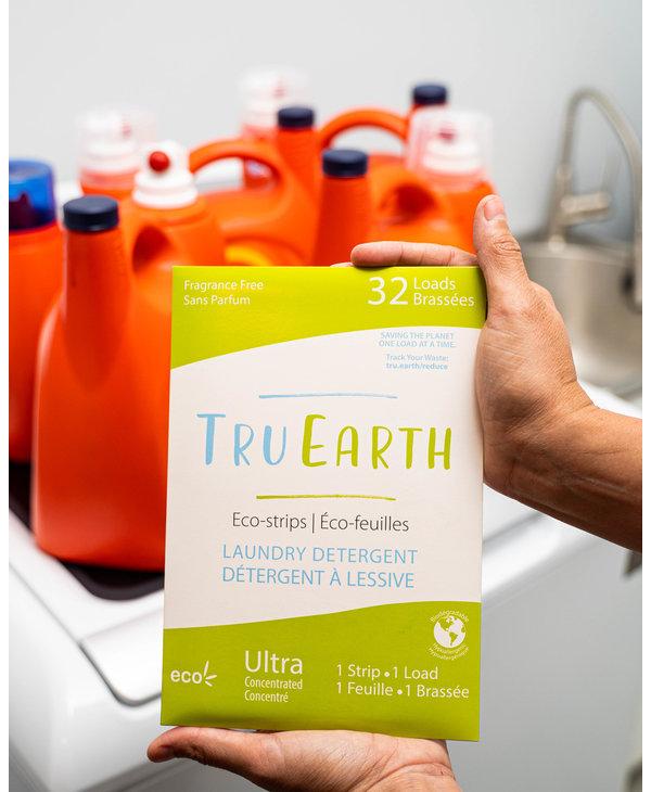 Laundry Detergent Eco-Strips Fresh Linen 32 Loads