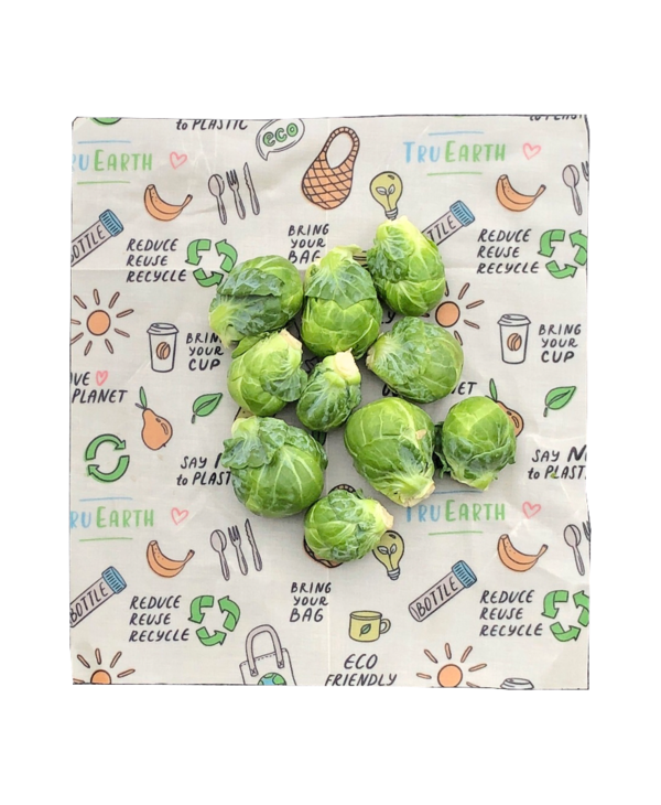 Beeswax Food Wraps Assorted 1S, 1M, 1L